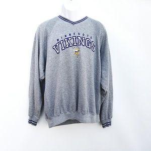 Minnesota Vikings NFL Vintage Sweatshirt Mens 2XL
